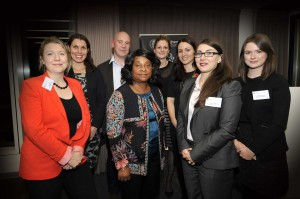 Pro bono annual event at Wragge Lawrence Graham & Co.- 03/11/15 Baroness Lawrence of Clarendon with committee members
