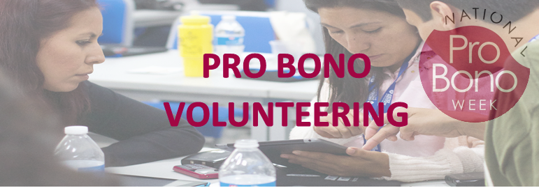 Pro Bono Volunteering