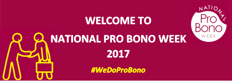 Welcome to National Pro Bono Week